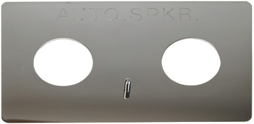 Dixon Polished Chrome Plated Auto-Sprinkler Wall Plate for Double Clapper Siamese Assembly