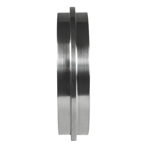 Dixon Sanitary John Perry Solid End Cap - 304 Stainless Steel - 1 in.