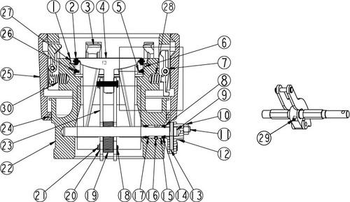 OPW 1004D2 Coupler Parts - Screw
