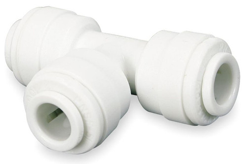 John Guest 3/8 in. Union Tee - White Inch Acetal Fitting - 3/8 in. - 10