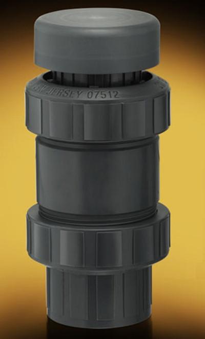 Plast-O-Matic Series VBS 1 1/2 in. Self-Closing PVC Vacuum Breakers w/ Viton Seals