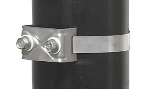 BAND-IT Two Bolt Straight Leg Brack-Its w/ SS Washer & Fiber Washer - 50/Box