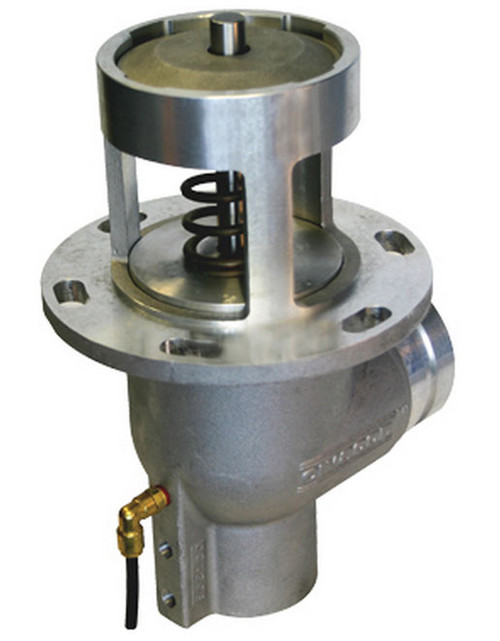 Civacon 3 in. Grooved Elbow Air Operated Emergency Valves w/ Tef-Sil Seal