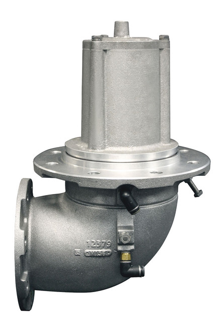 Civacon MaxAir HP 5 in. x 4 in. Flanged Elbow Crude Oil Emergency Valve w/ Viton Seal