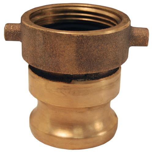 Dixon 1 1/2 in. FNST x 1 1/2 in. Brass Hydrant Adapter