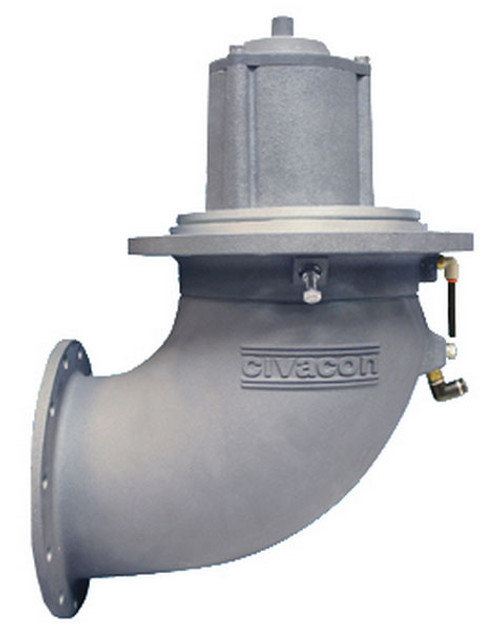 Civacon 6 in. Flanged Elbow Crude Oil External Air Emergency Valves w/ Viton Seal