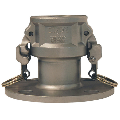 Dixon 2 in. Stainless Steel EZ Boss-Lock Coupler x 150# Flange