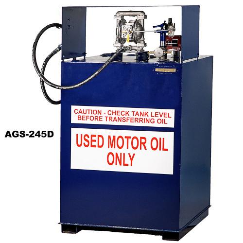 JohnDow Used Oil Storage Tank System - Vertical - 245 - 40 in. x 38 in. x 69 in.
