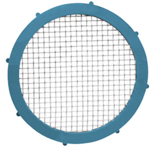 Rubber Fab 2 in. Platinum Silicon Metal Detectable Screen Camlock Gaskets - 10 Mesh