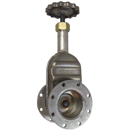 Betts 4 in. Gate Valve - TTMA Flange x TTMA Flange - Aluminum Body, Aluminum Stem
