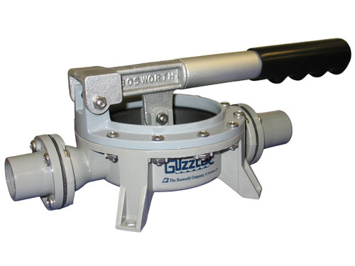 Bosworth Delrin GH-0400D Guzzler Horizontal Hand Pump w/ Aluminum Clamp Ring - 1 in. Smooth