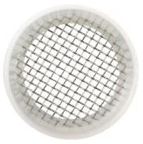 Rubber Fab 2 in. Platinum Silicon Screen Camlock Gaskets - 10 Mesh