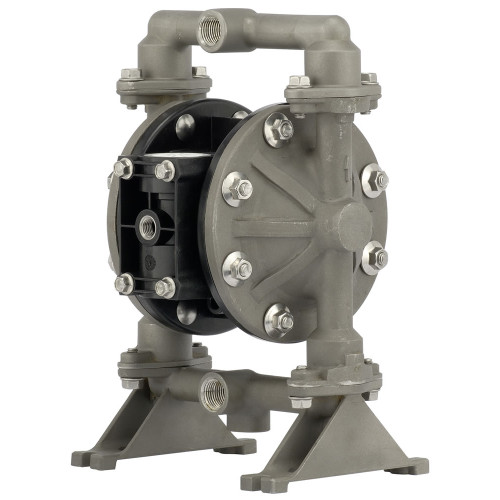 ARO Compact Series 1/2 in. Aluminum Air Diaphragm Pump w/ Santoprene Diaphragm