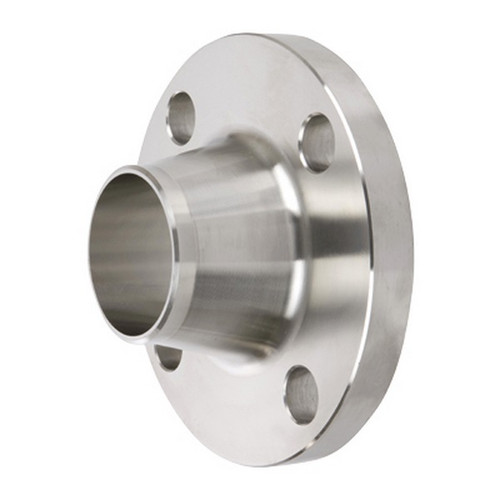 Smith Cooper 150# Schedule 40 304 Stainless Steel 1 in. Weld Neck Flange w/ 4 Holes