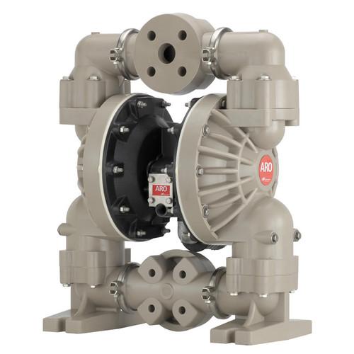 ARO Pro Series 1 1/2 in. Polypropylene Non-Metallic Air Diaphragm Pump w/ Nitrile Diaphragm