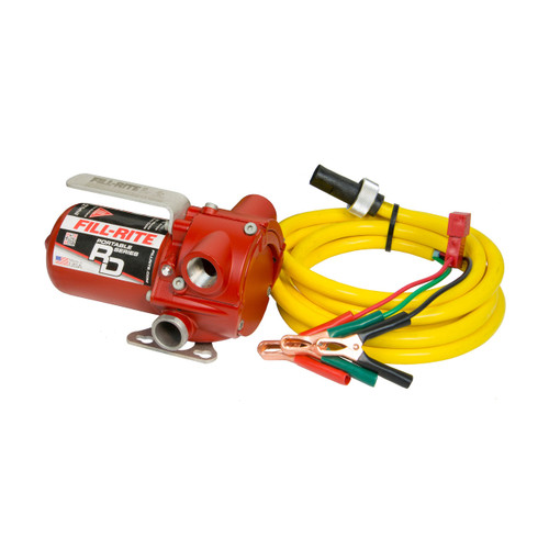 Fill-Rite RD Series 12V DC Portable Fuel Pump, 8 GPM, UL Listed