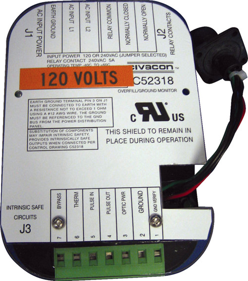 Civacon Printed Circuit Board (PCB) Replacement Boards - 8030-120V - Ground Verification Replacement Module for 120V