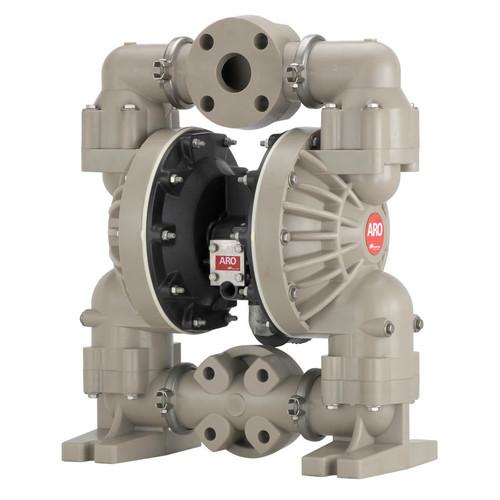 ARO Pro Series 2 in. Polypropylene Non-Metallic Air Diaphragm Pump w/ Santoprene Diaphragm