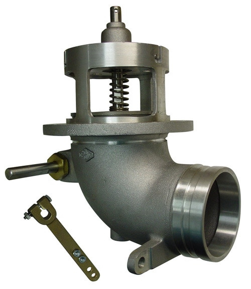 Frankling Fueling Systems 880-430 & 880-431 Emergency Valve Parts - Cam Lever Assembly - 11