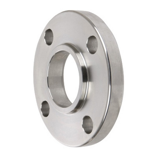 Smith Cooper 150# Schedule 40 304 Stainless Steel 1 1/2 in. Raised Face Socket Weld Flange w/ 4 Holes