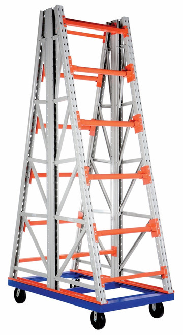 Vestil Manufacturing Double Sided Portable Rack - 39 in. W x 96 in. H