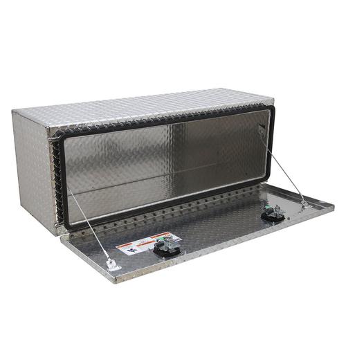 Chandler Equipment Aluminum Tread Plate Underbody Toolbox w/ Single Latch Door - 36x24x24