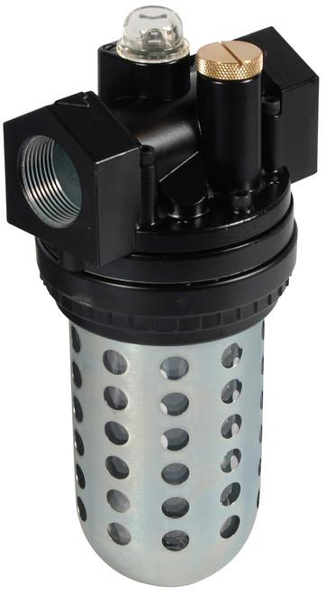 Dixon Wilkerson 3/4 in. L30 EconOmist Standard lubricator with Transparent Bowl