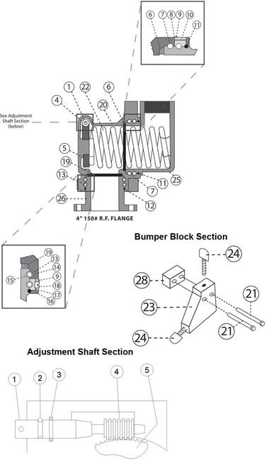 Center Housing Section - Center Housing Section - 20 - 1