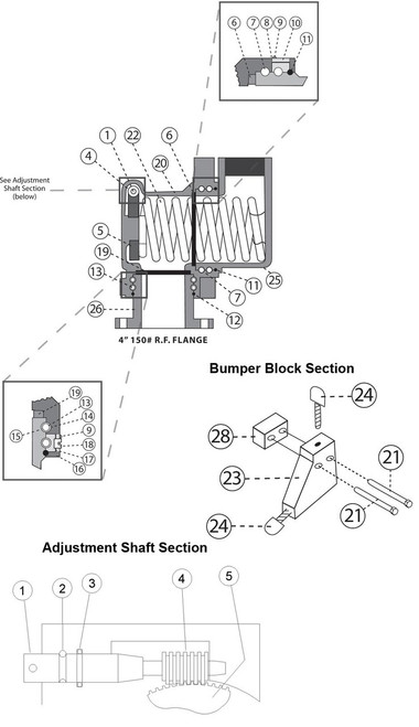 Outlet Housing Section - Outlet Housing Section - 25 - 1