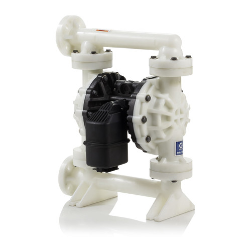 Graco Husky 15120 Poly Air 1 1/2 in. Diaphragm Pumps w/ Santoprene Seat, Balls, & Dia. - 120 GPM
