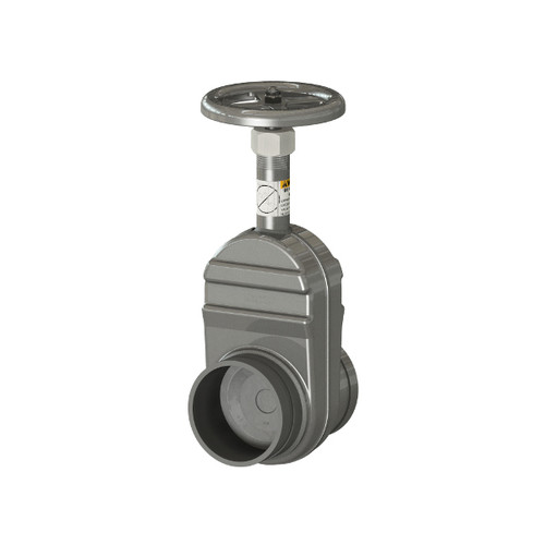 Betts Manual Gate Valves - Groove X Groove - 3 in. Aluminum