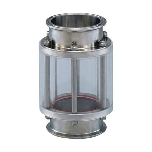 Cipriani Harrison Valves Corp. 95 Series 304L SS Pyrex Sight Glass w/ Guard