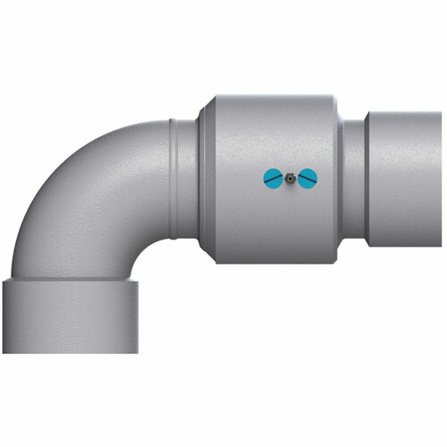 Dixon Style 30 3 in. Carbon Steel V-Ring Swivel Joints w/ Female NPT Ends - Nitrile Rubber