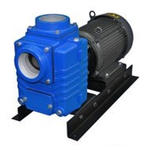 AMT 487195 4 in. Cast Iron Self-Priming Centrifugal Pump