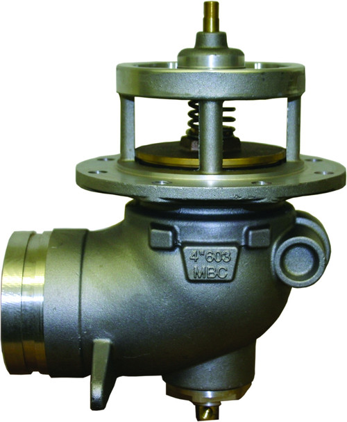 Morrison Bros. 603AA Series 3 in. Air Actuated Grooved Emergency Valve w/ Nitrile Rubber Seal