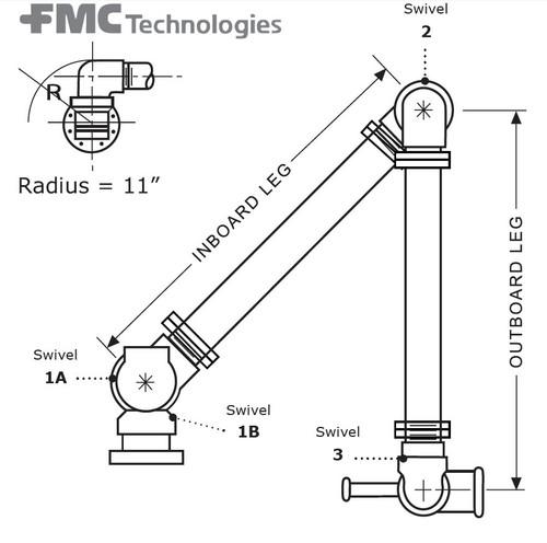 6 in. Lube Plug - 6 in. Lube Plug - 1A 6 in. Swivel - 2