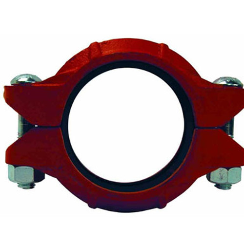 Dixon Series L Style 10 1 1/2 in. Lightweight Flexible Grooved Coupling w/ Nitrile Rubber