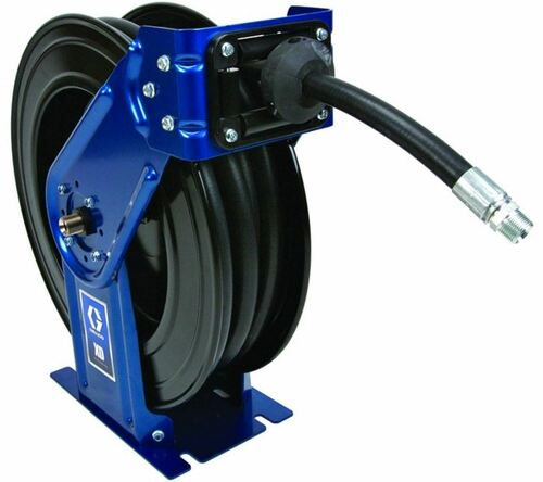 Graco 1/2 in. x 75 ft. XD30 Series Heavy Duty Spring Driven Air & Water Hose Reel