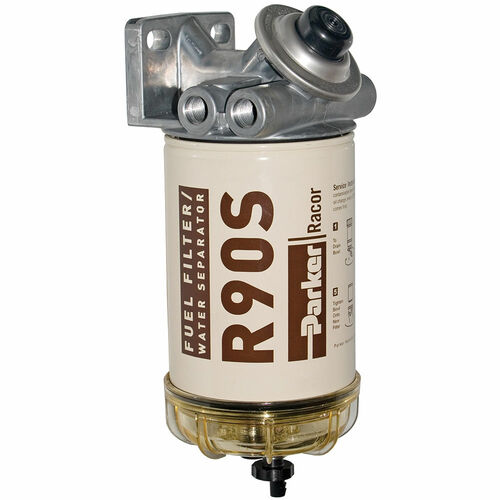 Racor 400 Series 90 GPH Diesel Spin-On Fuel Filter - 2 Micron - 6 Qty