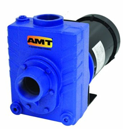 AMT 276A95 2 in. Cast Iron Self-Priming Centrifugal Pump