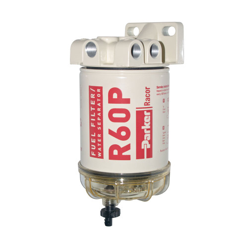 Racor 600 Series 90 GPH Diesel Spin-On Fuel Filters - 30 Micron - 6 Qty