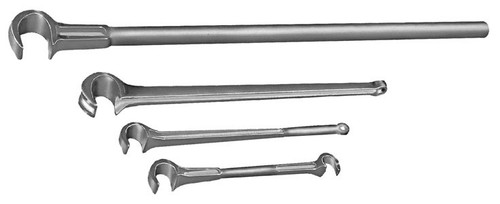 Gearench TITAN 1 in. Forged Steel Single-End Valve Wheel Wrench