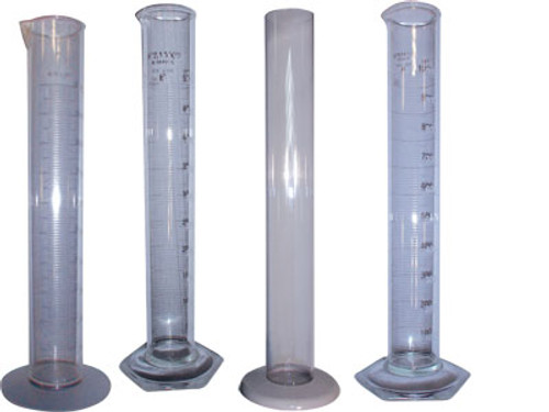 W.L. Walker Plastic Cylinder - Non-graduated - 300 - 1 3/8 in. x 15 in.