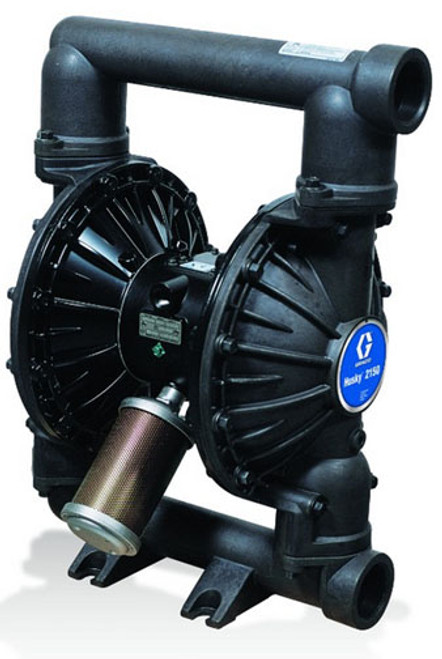 Husky Aluminum 2150 Air Diaphragm Pump w/ Stainless Steel Seats and Santoprene Diaphragms