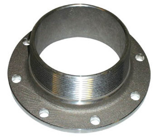 Betts 2 in. TTMA Flange x 2 in. Male NPT - Stainless Steel