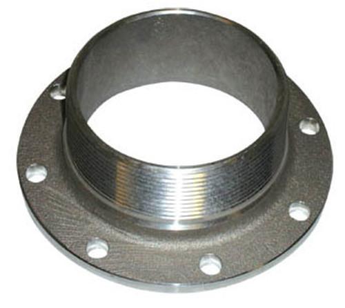 Betts 4 in. TTMA Flange x 4 in. Male NPT - Stainless Steel