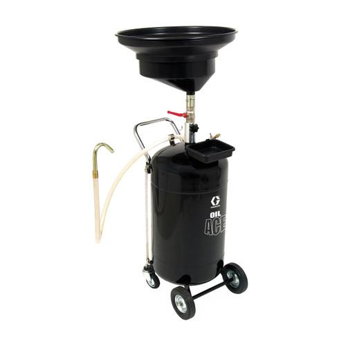Graco Oil Ace 24 Gallon Portable Steel-Tank Pressurized Oil Drain