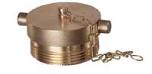 Flomax Brass Pinlug Plugs w/ Chain