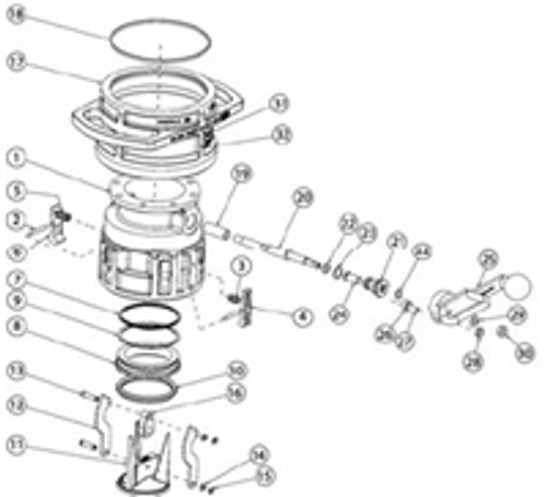 OPW 1004D3 Seal Kits