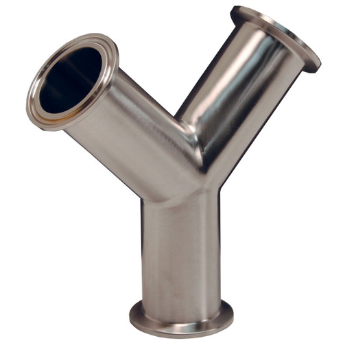 Dixon Sanitary B28BMP Series 316L Stainless Clamp True Wyes